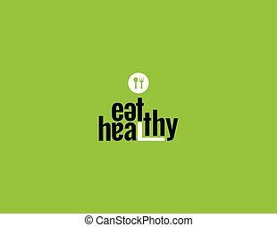 sano, comer