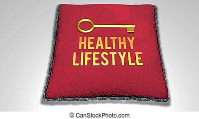 sano, concepto, estilo de vida