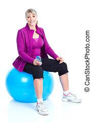 sano, condición física, gimnasio, estilo de vida