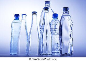 sano, fresco, agua potable