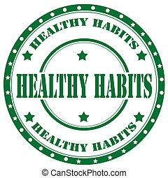 sano, habits-stamp