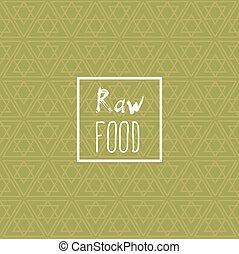 sano, letras, comer