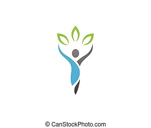 sano, logotipo, vida