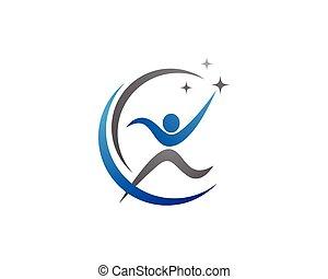 sano, logotipo, vita