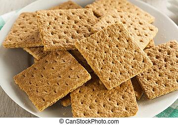 sano, miele, cracker, graham