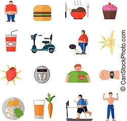 sano, obesidad, estilo de vida, transformación