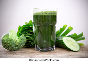 sano, succo, verde