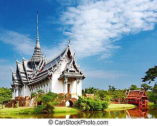 sanphet, 宮殿, prasat, タイ