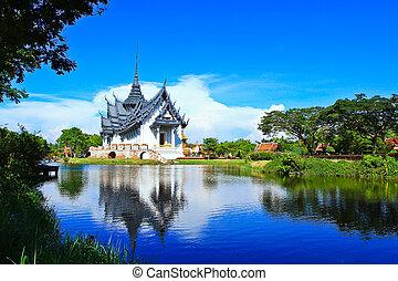 sanphet, prasat, palacio, bangkok, tailandia