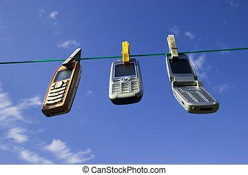 sans fil, réseau, appareils