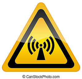 sans fil, réseau, signe