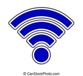 sans fil, symbole