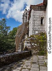 San's Pedro monastery of Rocks