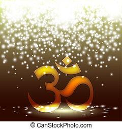 sanskrit, om 符號
