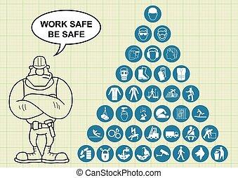 santé, construction, sécurité