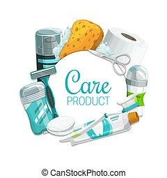 santé, hygiène, soin, produits, beauté, personnel