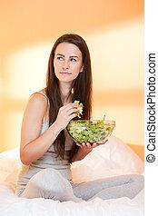 santé, nourriture.