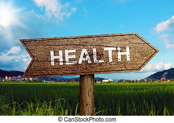 santé, panneaux signalisations