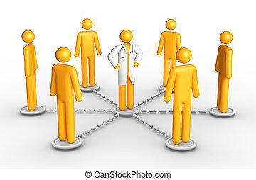 santé, réseau