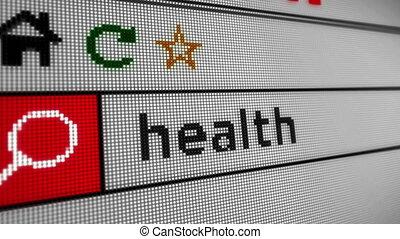 santé, recherche, internet