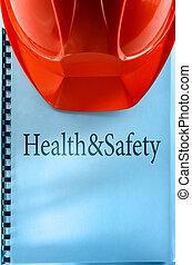 santé sécurité, à, casque