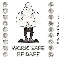 santé sécurité, message