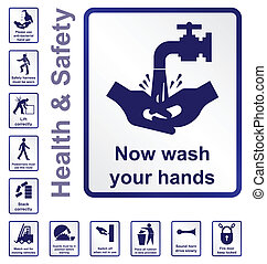 santé sécurité, signes