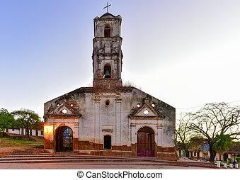 Santa Ana Church - Trinidad, Cuba - Ruins of the colonial...
