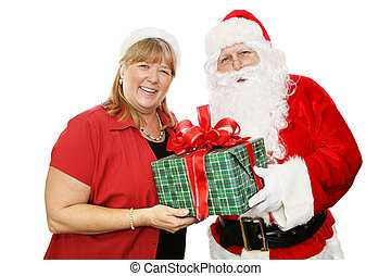 Santa and His Wife