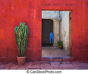 santa, arequipa, catalina, monasterio, perú