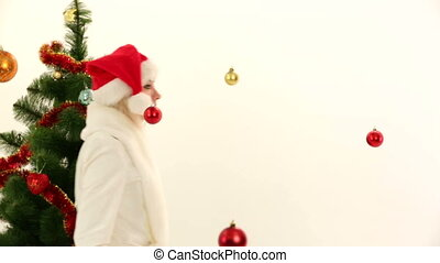 Santa at a costume party