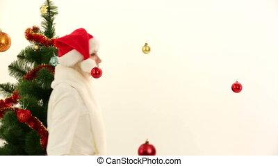 Santa at a costume party