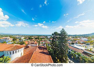 Santa Barbara on a sunny day