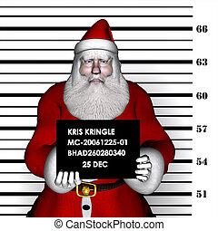 Santa Breaking & Entering - Santa Arrested for Breaking and...