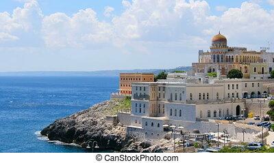Santa Cesarea Terme Villa Sticchi in Salento Apulia region...