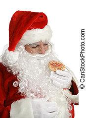 Santa Cheats on Diet