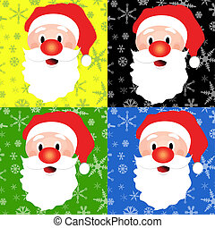 Santa Christmas  background