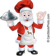 Santa Christmas Chef