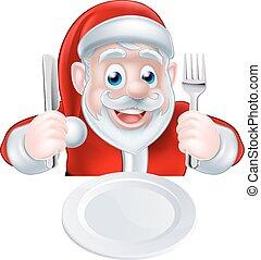 Santa Christmas Dinner