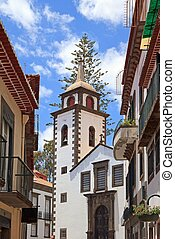Santa Clara Church in Funchal, Street View  Madeira