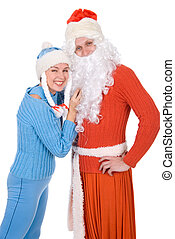 Santa Claus and the Snow Maiden