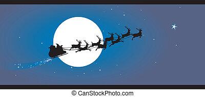Santa claus background