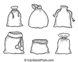 Santa Claus bags