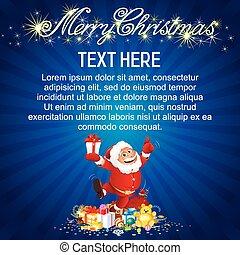 Santa Claus Card.
