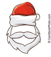 Santa Claus Christmas Photo Template