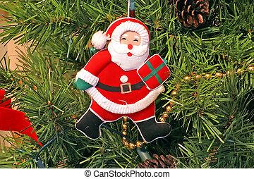 Santa Claus Christmas Tree Ornament