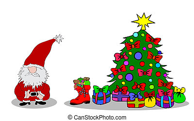 Santa Claus Christmastree