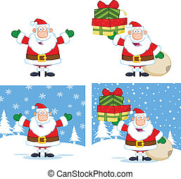 Santa Claus Collection Set