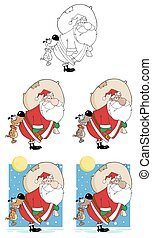 Santa Claus. Collection Set