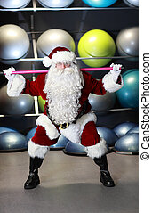 Santa Claus condition training